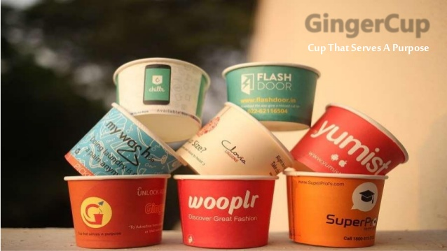 Paper Cup Marketing Campaign in Bangalore-Gingercup