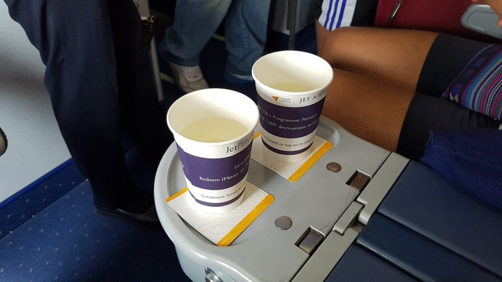 paper cup campaign jet airways