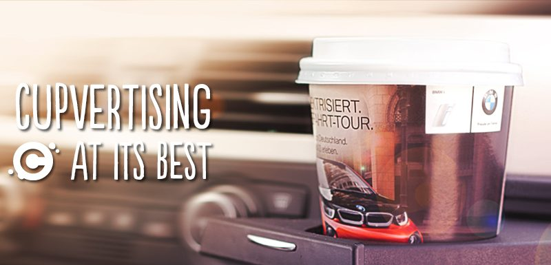 The Power of Branding In-flight using Paper Cups-Gingercup