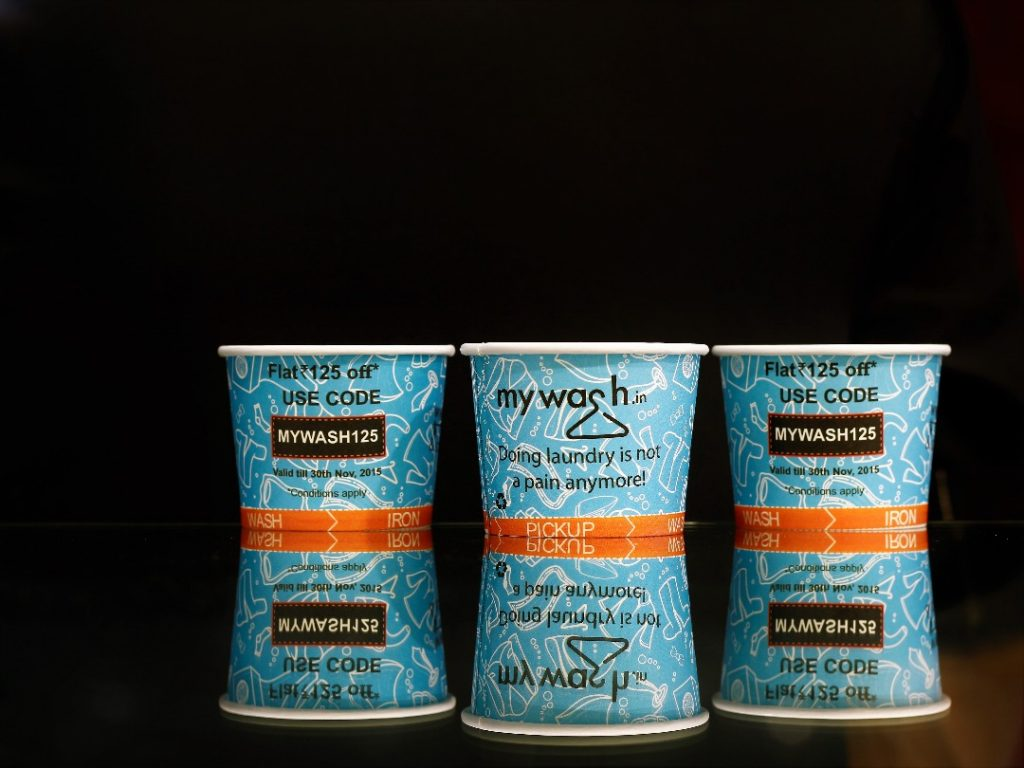 paper cup advertising