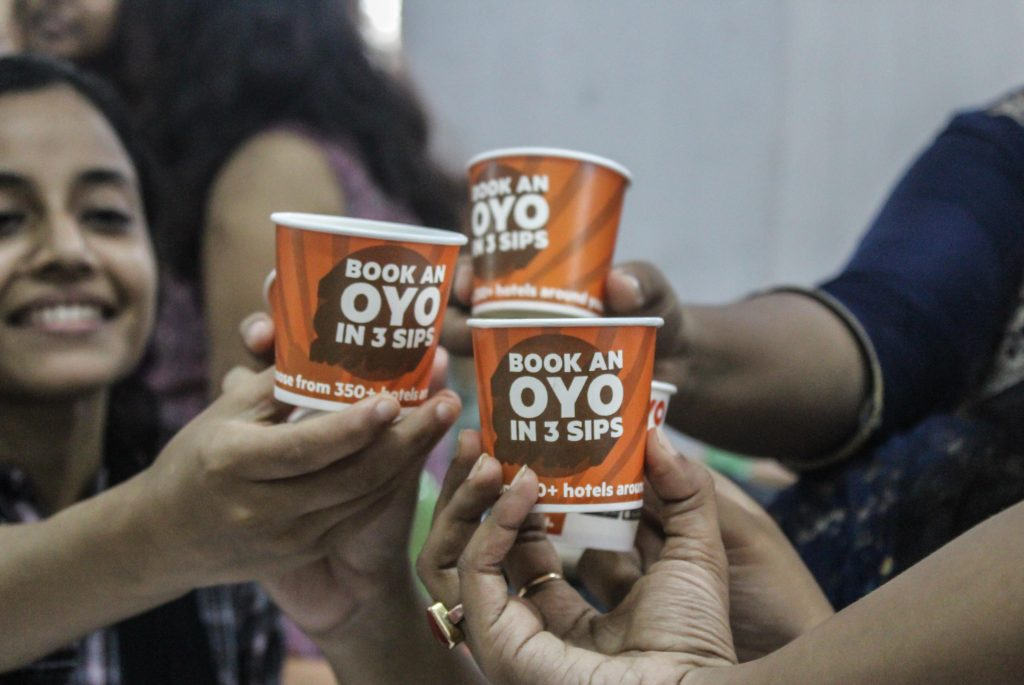 oyo cup branding campaign