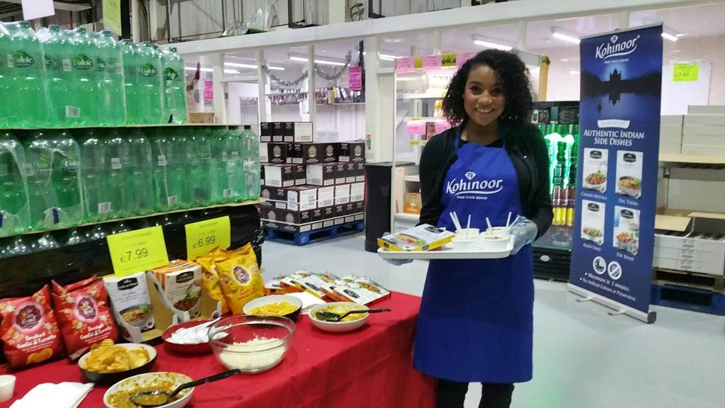 brand activation product sampling