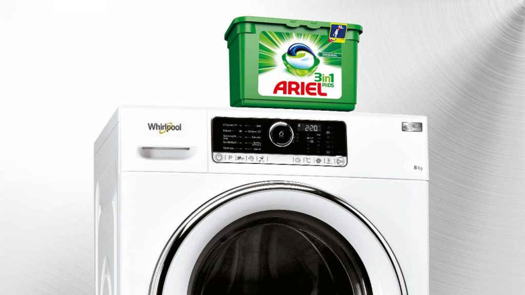 Ariel and Whirlpool Cooperative advertising
