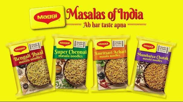 maggi flavours of india to target B2C market