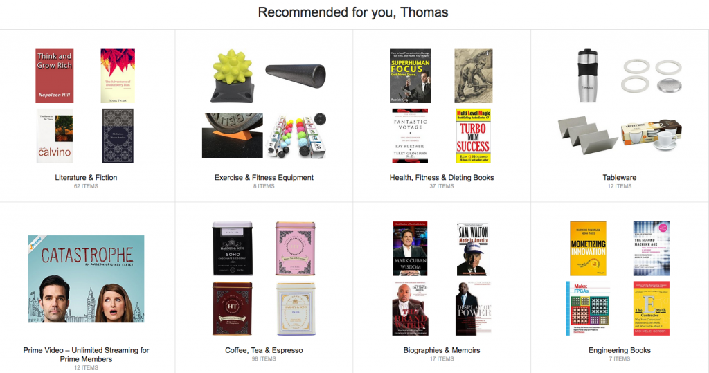 personalised recommendations customer engagement